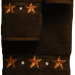 Barn Star 3 pc. Towel Set - Chocolate