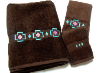 Chimayo SW 3 pc. Towel Set - Chocolate