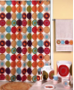Dot Swirl Shower Curtain - Multi