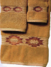 Gallup Southwest Towel Set - Gold