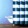 Hampton Stripe Shower Curtain - Indigo