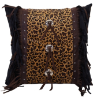 Leopard Concho Pillow