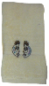 Kokopelli Southwest Embroidered Hand Towel