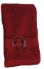 Kokopelli Southwest Embroidered 2 pc. Hand Towel Set