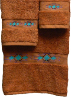 Taos Southwest Towel Set - Papaya