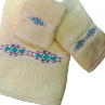 Taos Southwest Towel Set - Ivory Supima Cotton