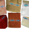 Taos Southwest Embroidered Bath Towel