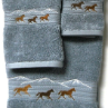 Wild Horses Towel Set - Smoke