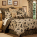 "Yvette California King Comforter Set w/15"" Bedskirt"
