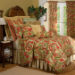 "Captiva Twin Comforter Set w/15"" Bedskirt"