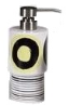 Dot Swirl Lotion Dispenser - Citron