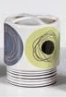 Dot Swirl Toothbrush Holder - Citron