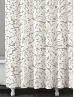 Foglia Taupe Shower Curtain