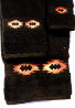 Gallup Southwest Towel Set - Chocolate