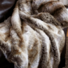 Chinchilla Faux Fur Throw