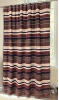 Old West Stripe Shower Curtain