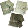 Majestic Deer 3 pc Towel Sets