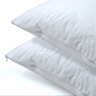 Cotton Percale Queen Pillow Covers, 20x30