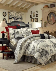 "Bouvier Twin Comforter Set w/15"" Skirt"
