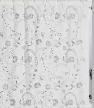 Eyelet Shower Curtain