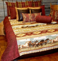 Liberty's Ride Super Queen Duvet Covers