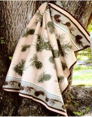 Pine Cone Valley Twin Blanket