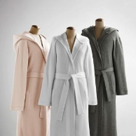 Pique Hooded Robes