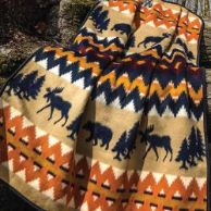 Call of the North Twin Blanket