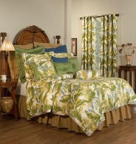 "Cayman Comforter Sets with 15"" Bedskirt"