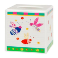 Cute as a Bug Boutique Tissue Box