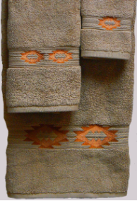 Gallup Southwest Towel Set - Linen