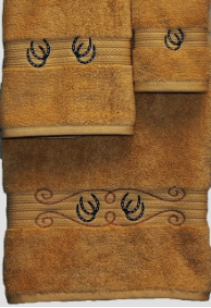 Ropin Shoes Towel Set - Gold