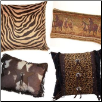Animal Print Decorative Pillows