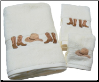 Boots & Hat Embroidered Towel Set Collection