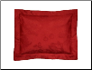 Bouvier Red Breakfast Pillow