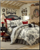 "Bouvier California King Comforter Set w/15"" Skirt"
