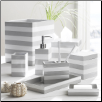 Cabana Bath Accessories in Grey