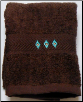 Chimayo Southwest Embroidered 2 pc. Wash Cloth Set