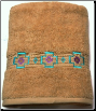 Chimayo Southwest Embroidered 2 pc Bath Towel Set