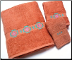 Chimayo SW 3 pc. Towel Set - Papaya
