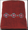 Chimayo Southwest Embroidered Bath Towel
