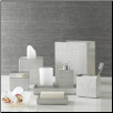 Delano - Silver Bath Accessories