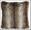 Chinchilla Faux Fur Pillow