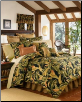 "La Selva California King Comforter Set w/15"" Bedskirt"