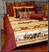 Liberty's Ride King Duvet Covers