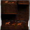 Wild Horses Towel Set Collection