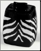 Zebra Cotton Jar