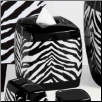 Zebra Tissue Box