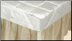 Silk Mattress Pad - King, 78 x 80