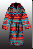 Rustic Sunset Robe - Large/XLarge